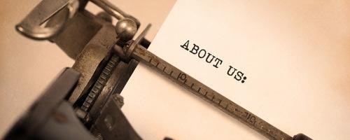 about-us-typwriter